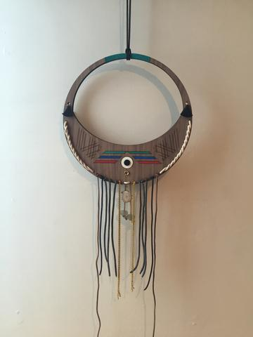 Moon Wall Hanging: Gibbous-Crescent